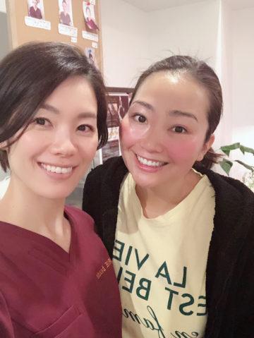 es NAIL AIKOちゃんご来店♡小顔フォーカス&ワンダースキン イメージ
